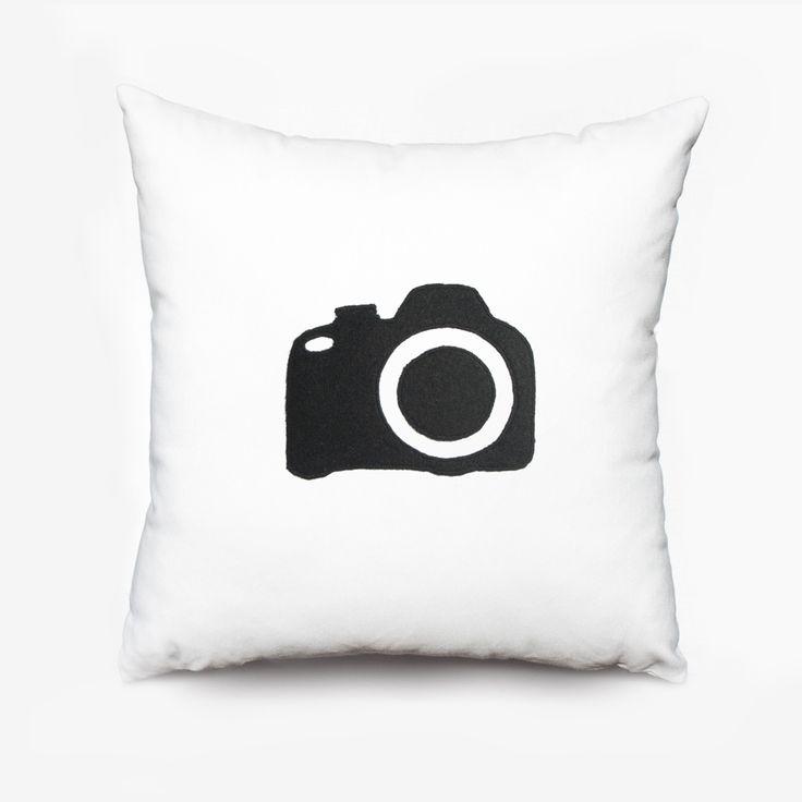 Home - Cojín cámara / Camera cushion - Olé mis cojines!