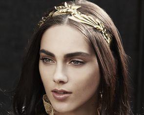 Pegasus Headband by Jennifer Behr :: hair :: beauty :: headband :: accessory :: bridal :: wedding :: gold