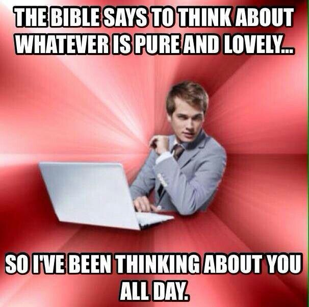 christian singles pick up lines