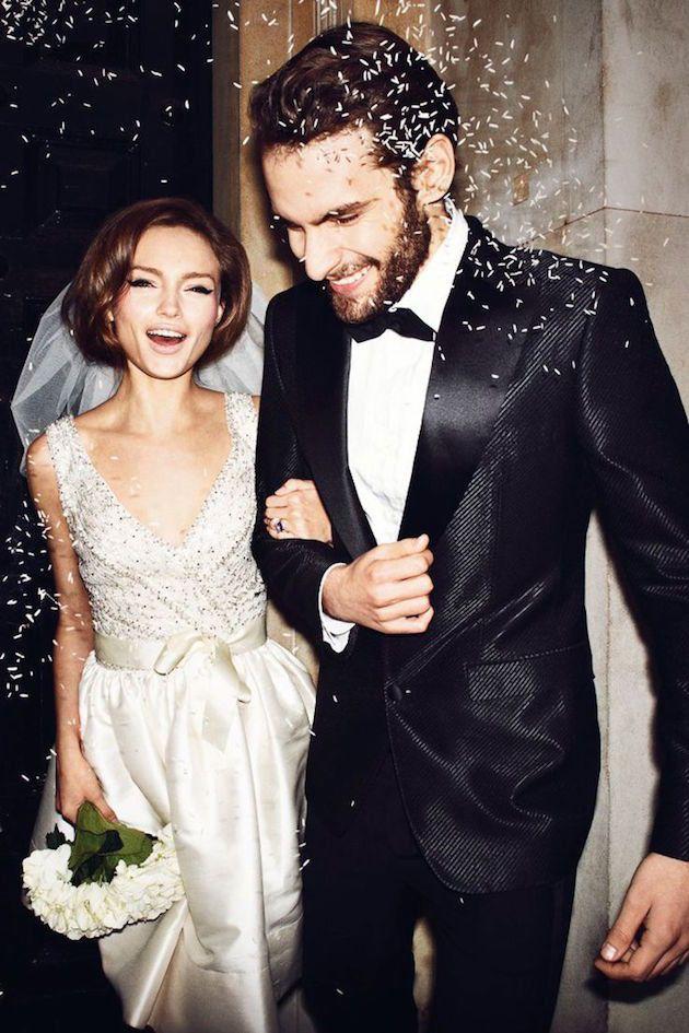 Gorgeous Bride & Groom | Bridal Musings Wedding Blog