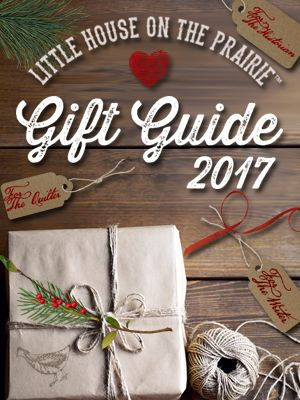 Perfect gift ideas for any Little House fan! The 2017 Gift Guide by Little House on the Prairie.