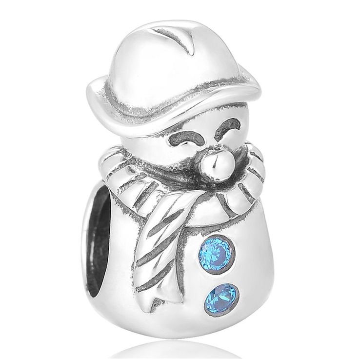 Just launched! Snowman Charm - 925 Sterling Silver Bead - Personalised Gift - Gift Packaging available - Birthday Gift - Christening Gift https://www.etsy.com/listing/478503860/snowman-charm-925-sterling-silver-bead?utm_campaign=crowdfire&utm_content=crowdfire&utm_medium=social&utm_source=pinterest