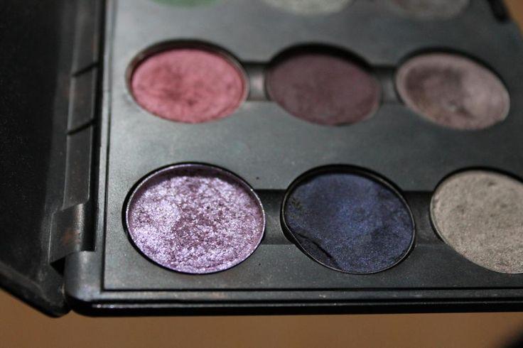 How to: gebroken oogschaduw maken/ Pigment pressen.