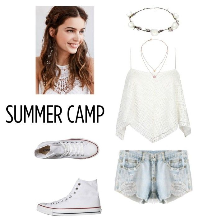 Untitled #30 by xjihye on Polyvore featuring polyvore, fashion, style, Converse, Michael Kors, REGALROSE, Lipsy, clothing, summercamp and 60secondstyle