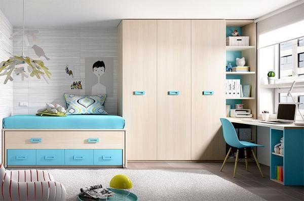 Rimobel Modern 3 Door Wardrobe, Storage Bed and Desk Composition - See more at: https://www.trendy-products.co.uk/product.php/8207/rimobel_modern_3_door_wardrobe__storage_bed_and_desk_composition#sthash.0AAh705J.dpuf