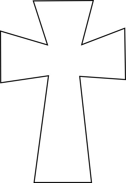 Légend image within free printable cross