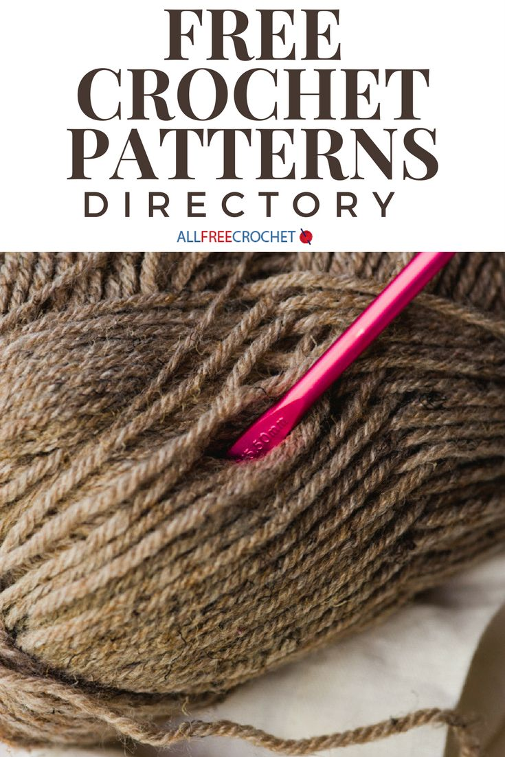 2770+ Free Crochet Patterns