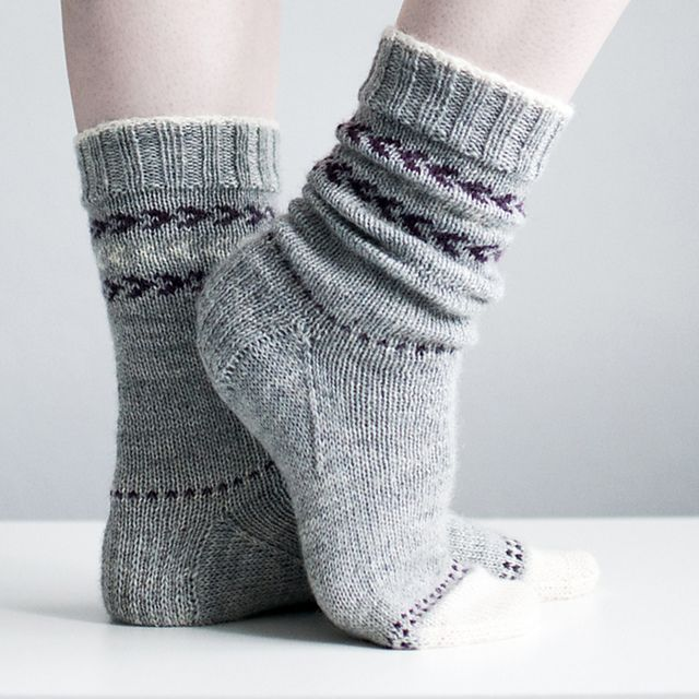 Ravelry: Snowy Toes pattern by Trin Annelie