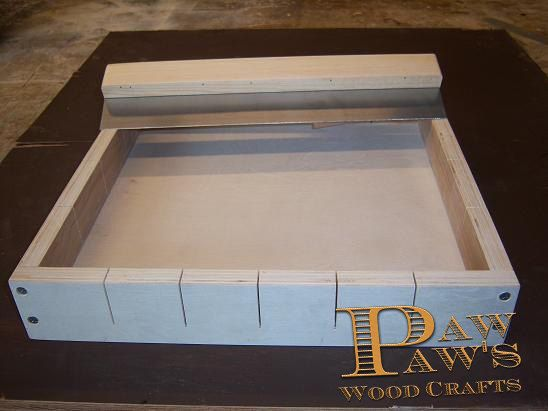 Wooden Soap Making Mold 24 bars Metal Cutter by Pawpawswoodcrafts