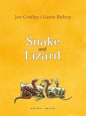 New Zealand Book Awards Junior Fiction Winner 2008. By Joy Cowley. The adventures of two very different creatures, Snake and Lizard, who become very good friends.