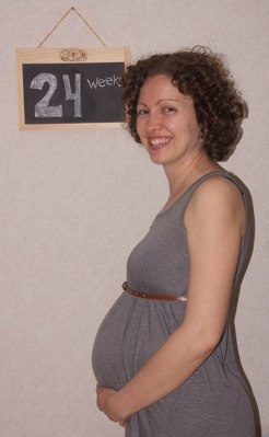 24 week bump