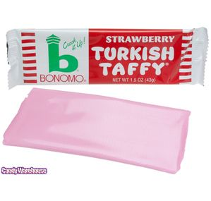 Just found Bonomo Strawberry Turkish Taffy Candy Bars: 24-Piece Box @CandyWarehouse, Thanks for the #CandyAssist!