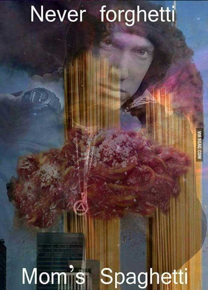 Eminem Never forghetti Mom's spaghetti