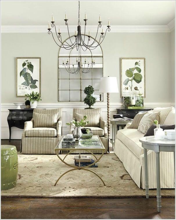 10 Nature Inspired Living Room Decor Ideas Pale Green Living Room Living Room Green Brown Living Room Decor