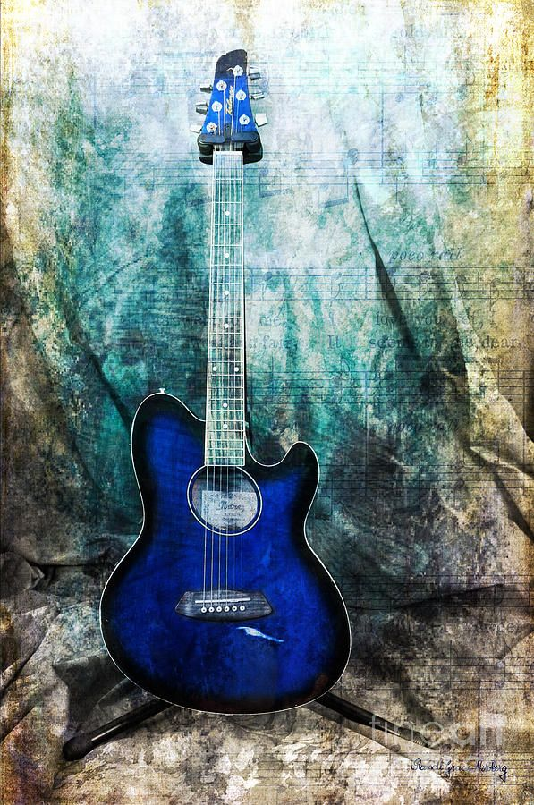 Play Me Some Blues Photograph by Randi Grace Nilsberg