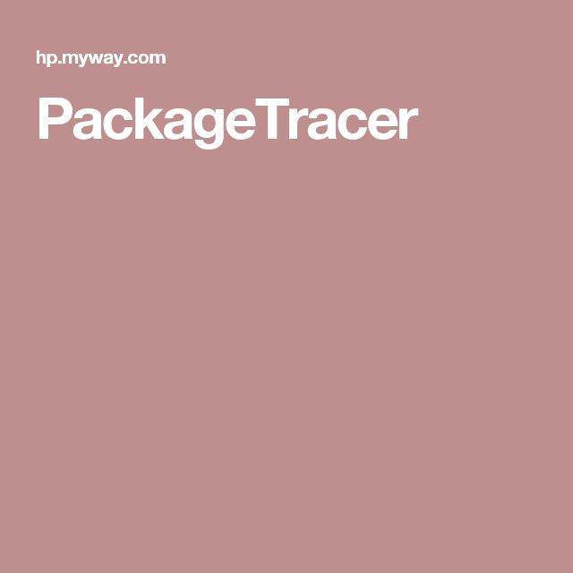 PackageTracer