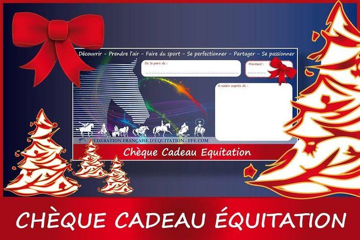 Pensez à offrir un moment de sport ! Chèque cadeau d'équitation à offrir  au centre équestre du lac de Trémelin