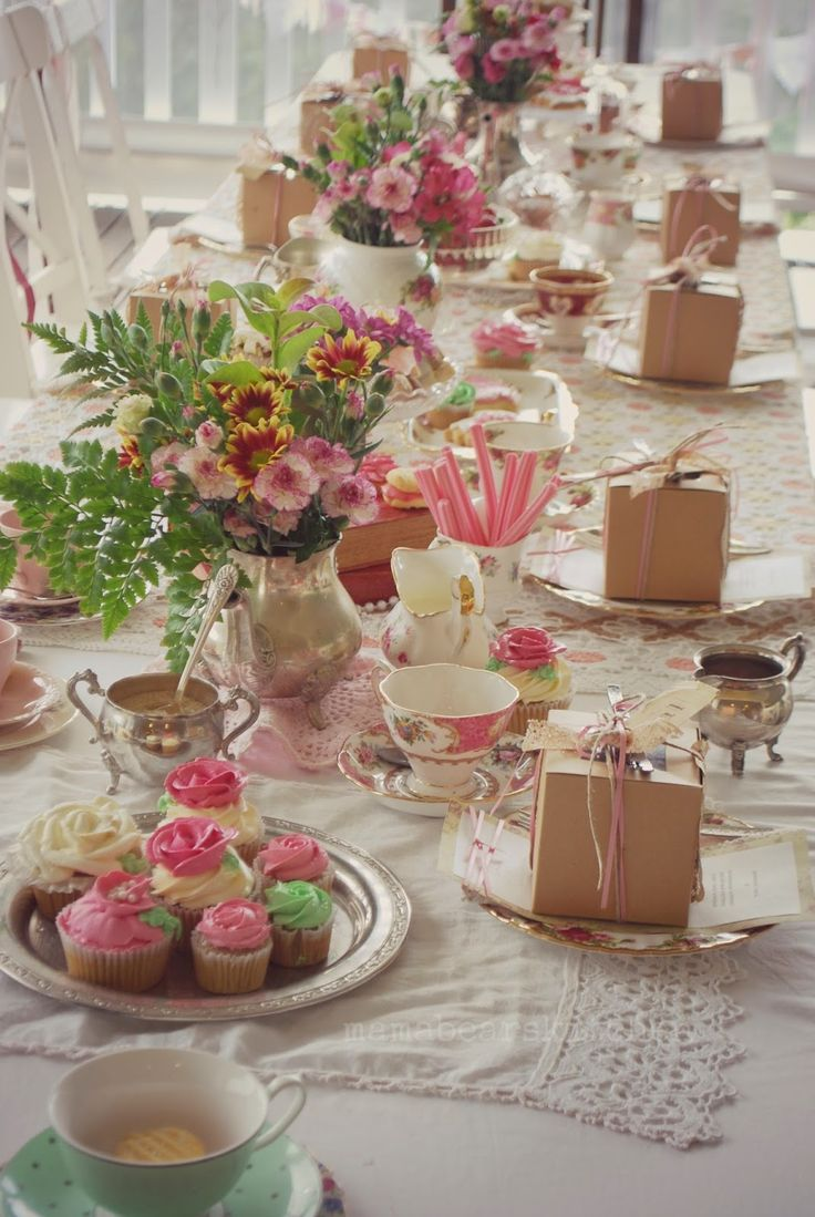 Mama Bear's Kitchen: High tea Luncheon