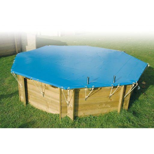 Bâche d'hivernage  Ø 410 cm pour piscine Ubbink - 550 g