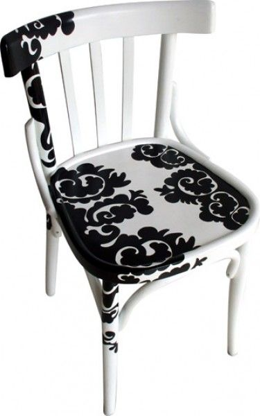Upcycled Dining Chair | #UpcycledChair | Painted Furniture