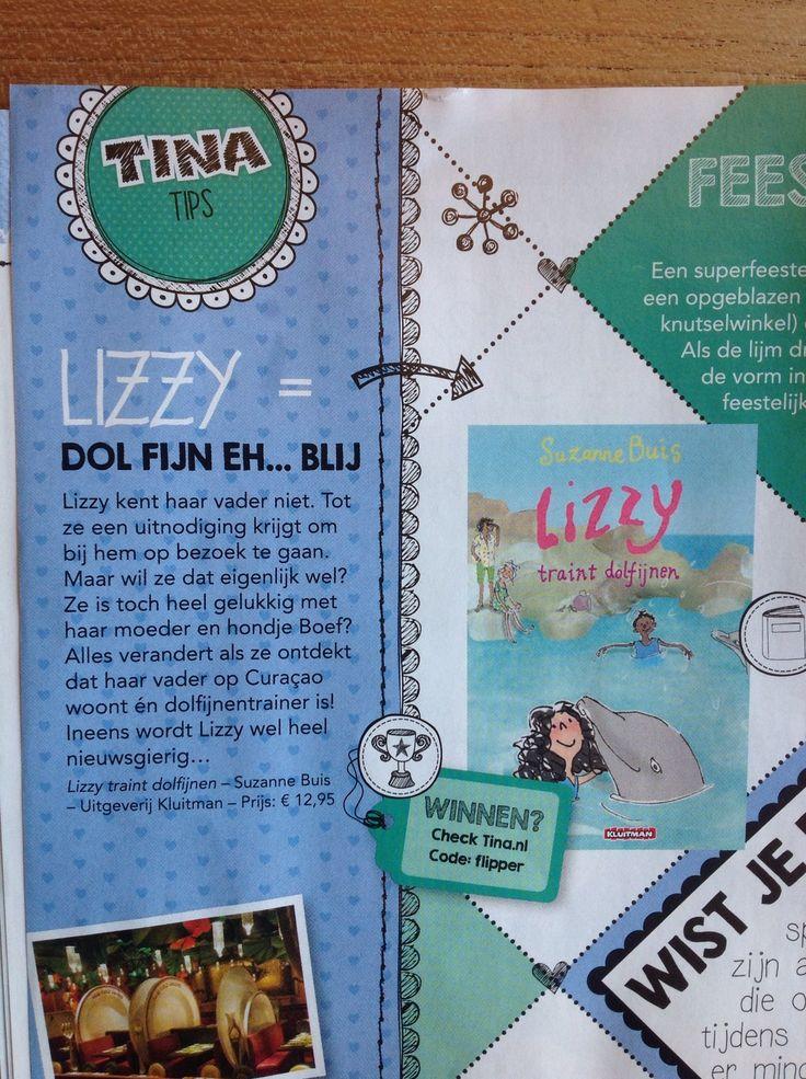 Tina, hét magazine voor coole en stoere en grappige meiden, is natuurlijk ook dol op Lizzy!