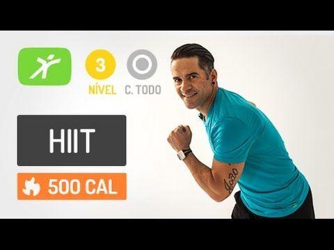 Treinamento Intervalado de Alta Intensidade para Queimar muita Gordura! até 500 cal - YouTube