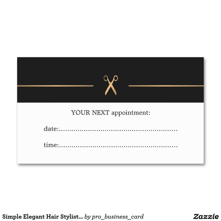91 best Appointment Cards - Beauty and Health images on Pinterest ...