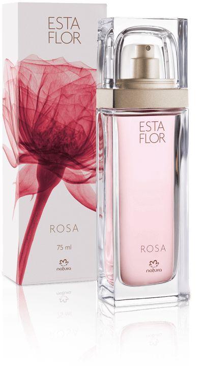 NATURA apresenta GRANDE LANÇAMENTO da nova linha de perfume feminino: ESTA FLOR... Com duas fragrâncias maravilhosas: ROSA, que é feita com rosas damascenas da Bulgária, e ÍRIS, que é cultivada e colhida no sul da França.