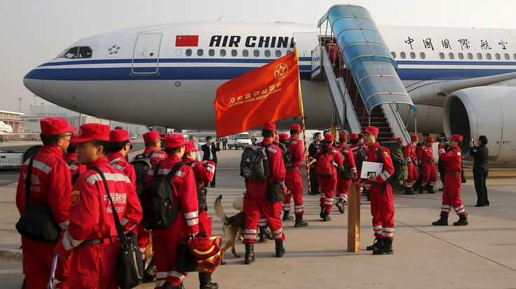 Chinese citizens are donating millions of dollars to Nepal earthquake relief earthquake #earthquake