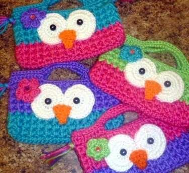 monederos tejidos a crochet