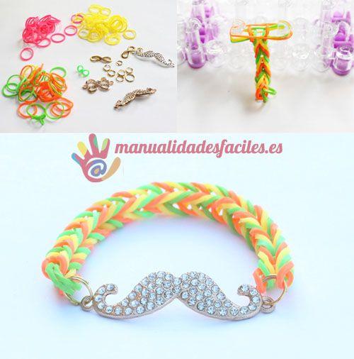 Ideas de pulseras de goma