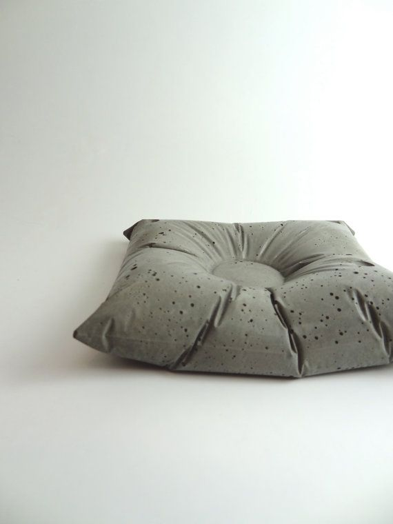 Medium Concrete Pillow. Set of Three. Bedside Caddy. Cement Home Decor. Rustic, Industrial Style. Gray. op Etsy, 33,52 €: