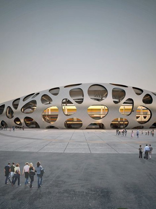 Bate Borisov FC by OFIS Arhitekti