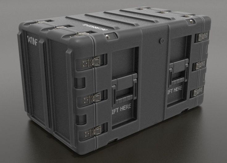 Military Crates , Greg Cox on ArtStation at https://www.artstation.com/artwork/4XZLl