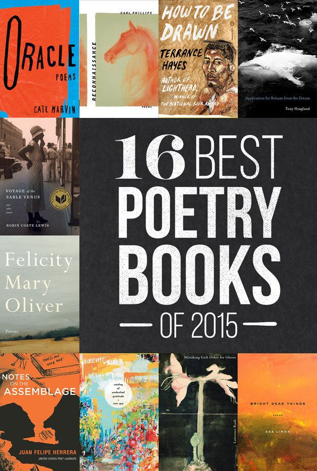 Here are the poetry collections — from newcomers and veterans alike — that we absolutely loved in 2015. (Ranked in no particular order.)