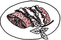 Koken met Karin, zalmfilet met pesto en rauwe ham uit de oven