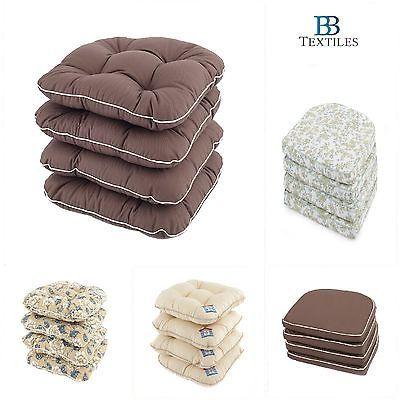 Kitchen/Garden luxury Seat Pad Cushion Chunky Comfy Chair Pads Cushion 5 Designs