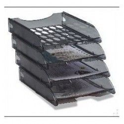 VASCHETTE PORTACORRISPONDENZA MODULA Vaschetta porta corrispondenza di grande capienza sovrapponibile mediante guide ad incastro sia scalare che in verticale.