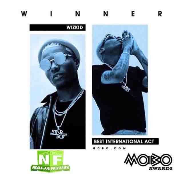 Wizkid beats Jay Z, Cardi B, Drake others to win Best International Act at MOBO Awards 2017 | Naijafastlink