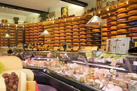 van der Ley cheese shop, Groningen, Netherlands.