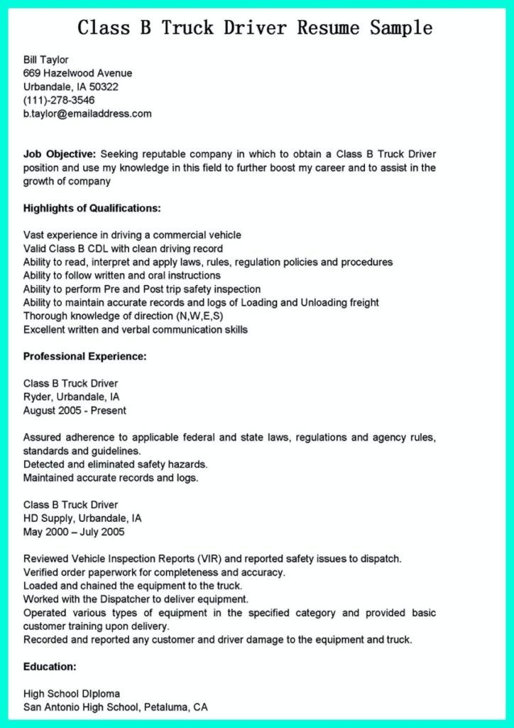 Simple But Serious Mistake In Making Cdl Driver Resume In 2020 Resume Examples Job Resume Examples Resume