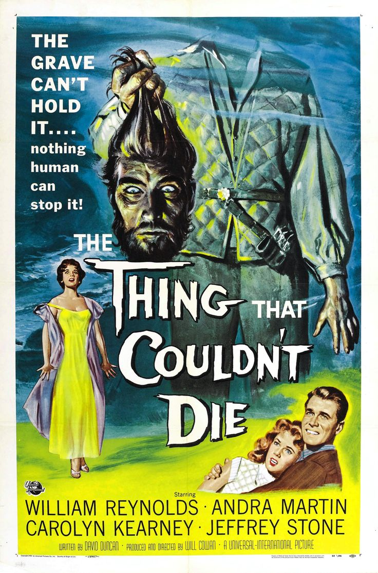 The Thing That Couldn't Die(1958)