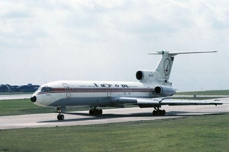YR-TPL Tarom Romanian Airlines Tupolev Tu-154