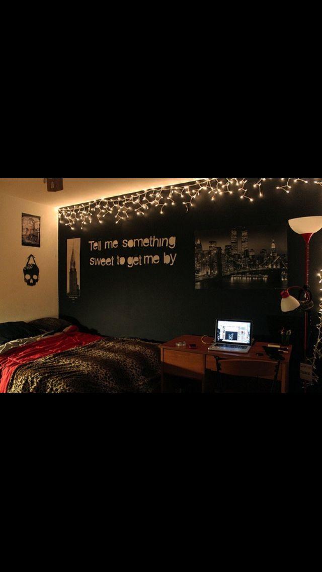 Bedroom Ideas Tumblr Christmas Lights 190 best tumblr bedrooms images on pinterest   bedroom ideas