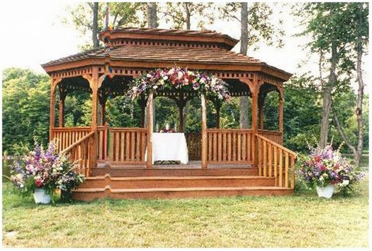 gazebo on pinterest gardens deck gazebo and gazebo decorations