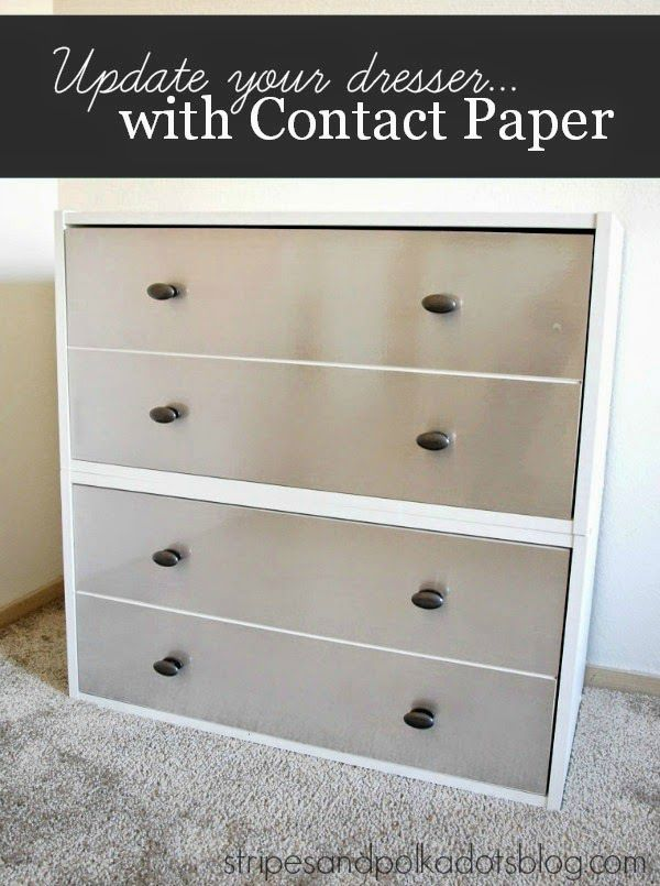 how to make contact paper stick to particle board
