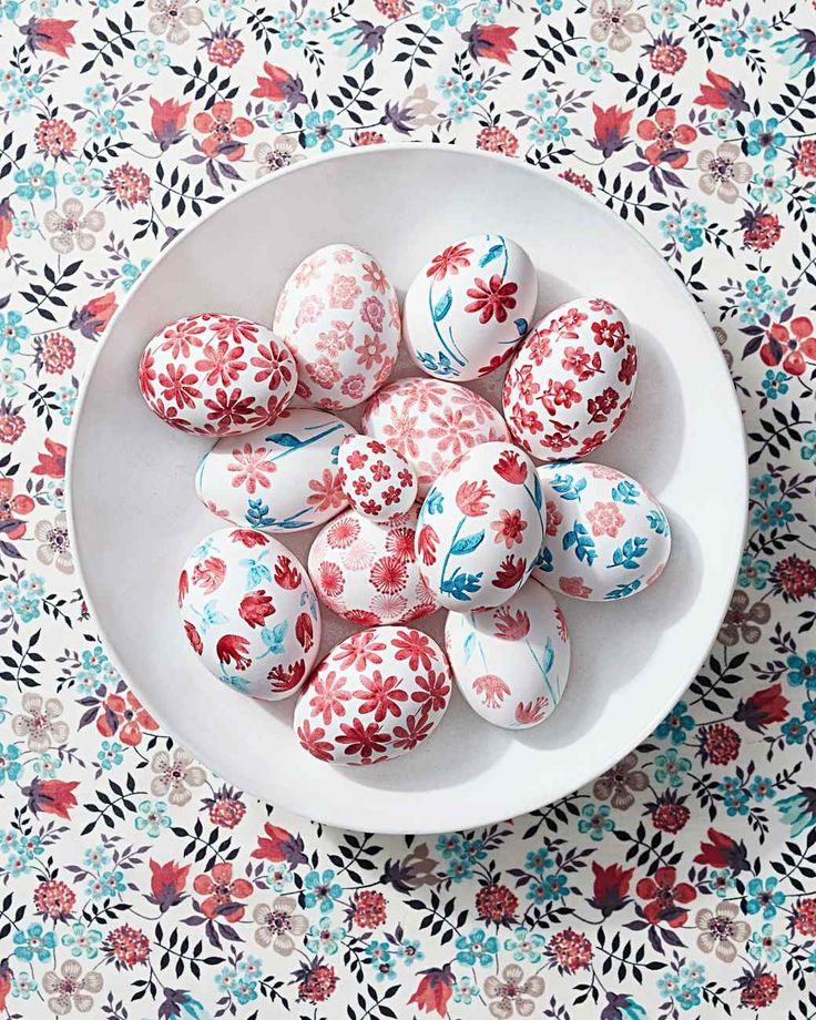 rubber stamped eggs liberty patriotic