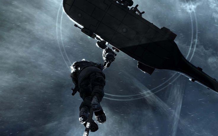 Vídeo Game Call Of Duty  Jogos Helicóptero Soldier Papel de Parede
