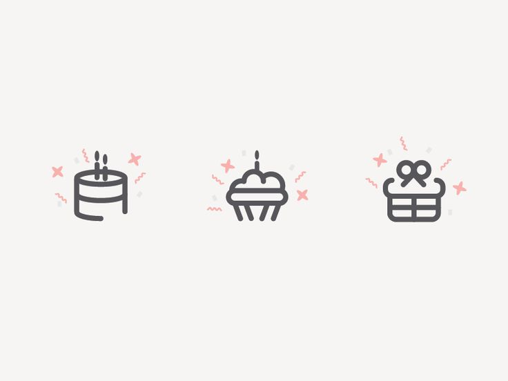 Birthday Icons by Michael Powers