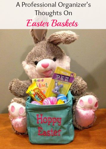 A Professional Organizer's Thoughts on Easter Baskets | Organize 365